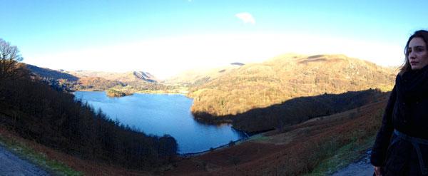 Looking across to Grasmere from Loughrigg Fell
