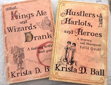 signed books from Krista D Ball