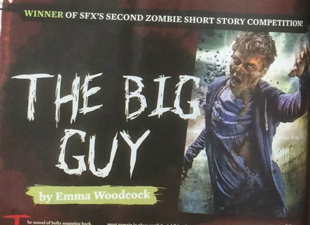 Winner of SFX short zombie story competition, The Big Guy by Emma Woodcock