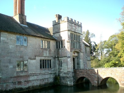 Baddesley Clinton, Warwickshire, entrance
