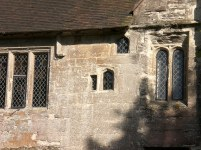 Baddesley Clinton, Warwickshire, detail of tiny windows