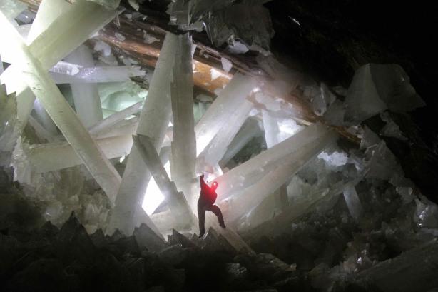Naica Cave, Mexico.